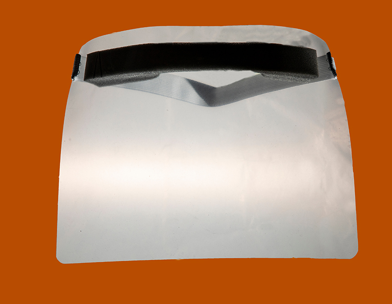 A face shield